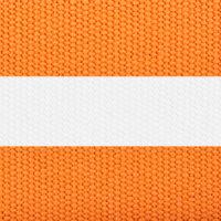 Orange & White Stripe