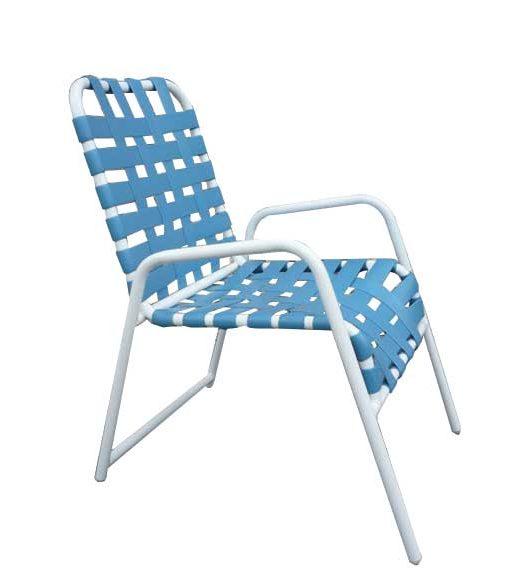 Classic Cross Strap Dining Chair – C-50C 1