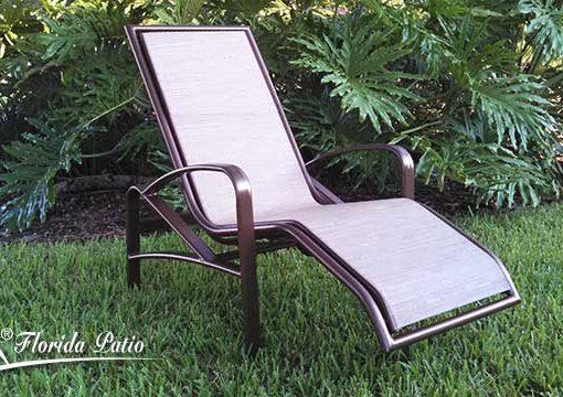 Ergonomic Outdoor Lounge Chair – E-175 1