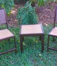 Eco Wood End Table – EW-18SQ 2