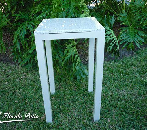 Millennium 24″ Square Bar Table With Granite Top 1