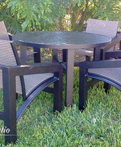 Modern Aluminum Outdoor Furniture - The Millennium Set