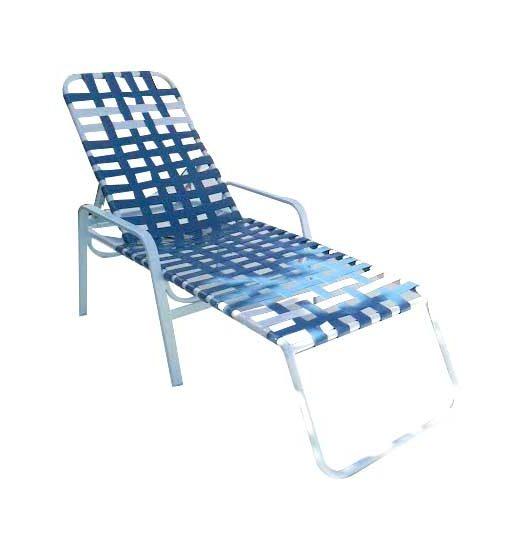 Regal Cross Strap Chaise Lounge – R-150C 1