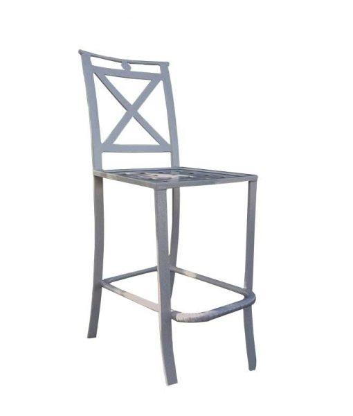 Sheet Cast All Aluminum Bar Chair – SC-77D 1