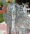 Aluminum Peacock 3
