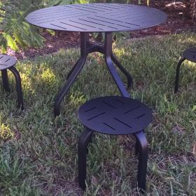 Kids Dining Table – Rimless Designer Punch 2