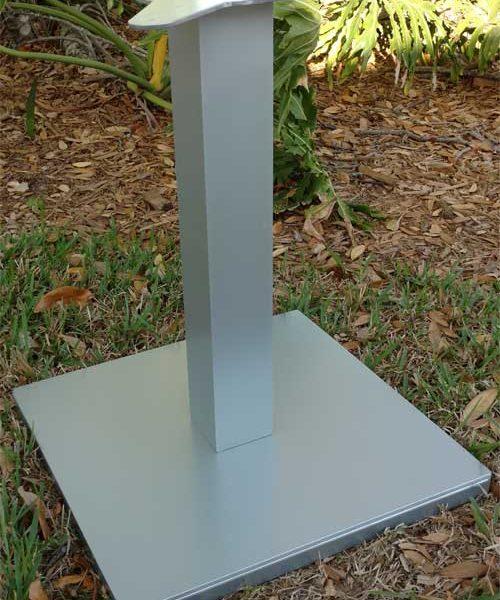 Square Adjustable Pedestal Base 1