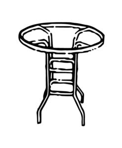 CB-42A Bar Table