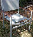 Alpha Sling Teak Arm Chair 2