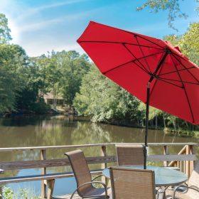 MAT 9ft Commercial Resort Umbrella 2