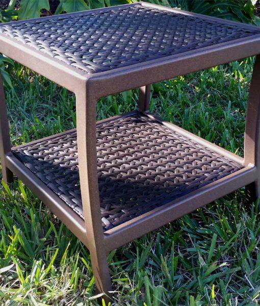 Wicker Side Table 1