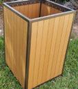 EW-99 Eco Wood Trash Bin