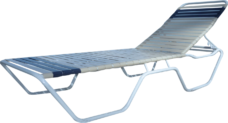 C-150 Commercial Strap Chaise Lounge