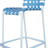 C-75C Cross Strap Bar Chair