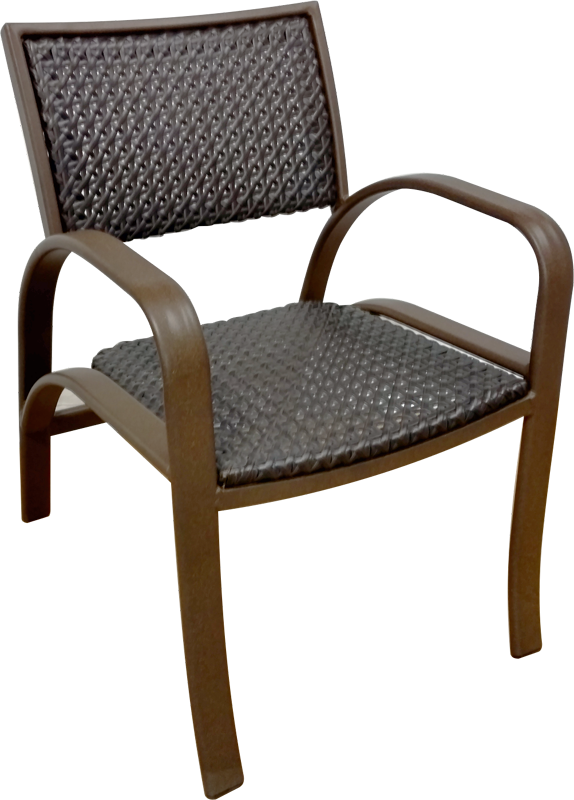 OW-50WV Dining Chair with Arms
