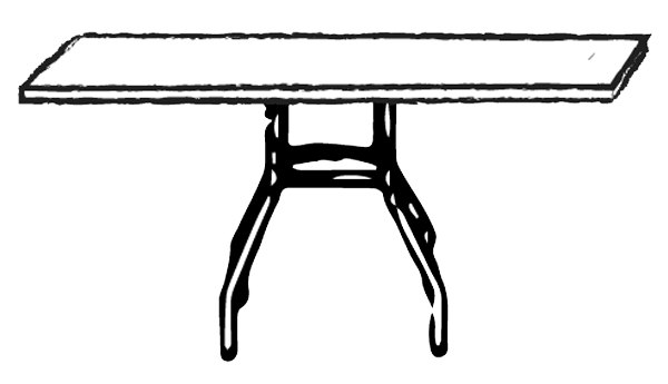 blank-rectange-table