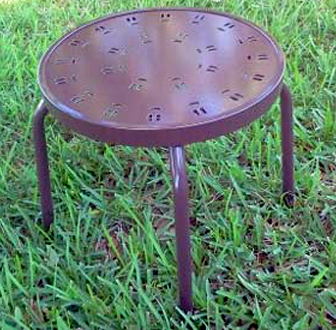 C-18 Enterprise Punch Side Table