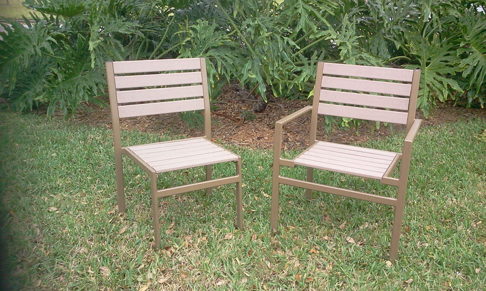 Faux Wood Chairs