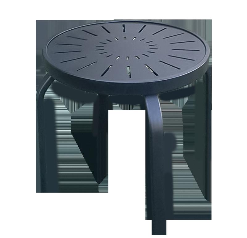 Aluminum Patio End Table - R-18PUNCH