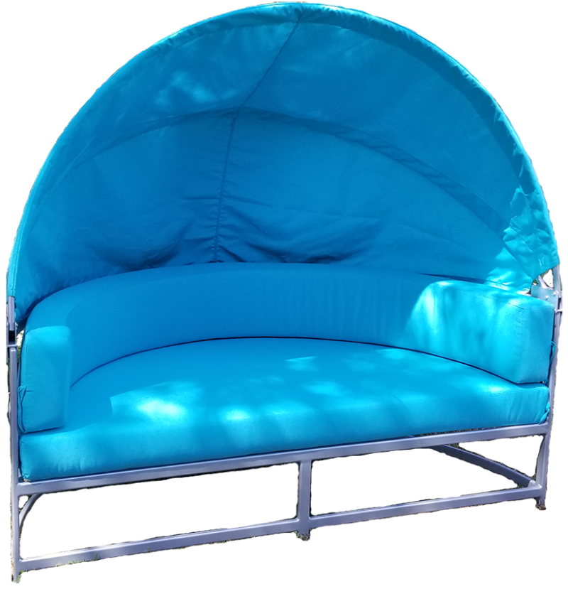 Regal Couch with Canopy