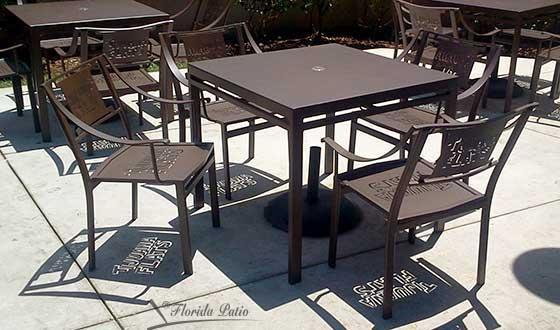 Custom Logo Chairs for Tijuana Flats