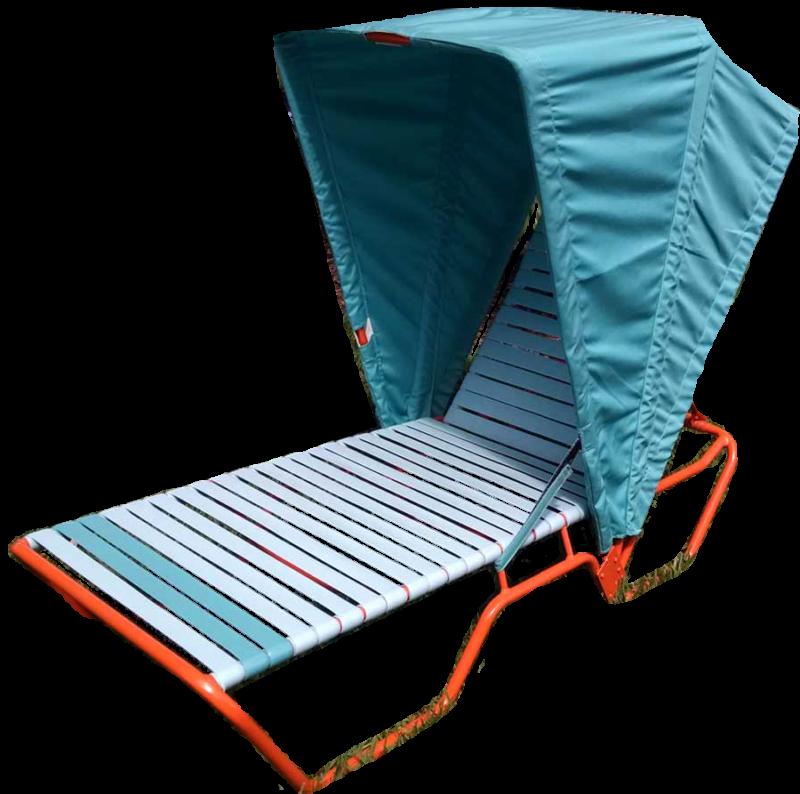 CAB-L Single Chaise Lounge Cabana
