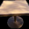 EW-36PD Pedestal Table