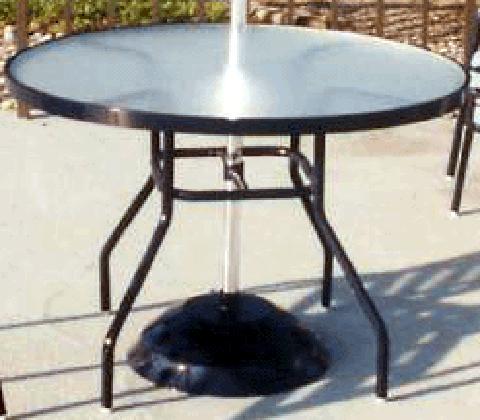 C-42A Acrylic Dining Table