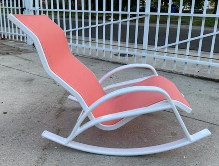 Low Boy Sling Rocker Sand Chair