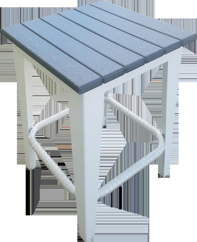 EW-71 Armless Backless Bar Chair